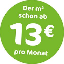 Der qm schon ab 15 Euro